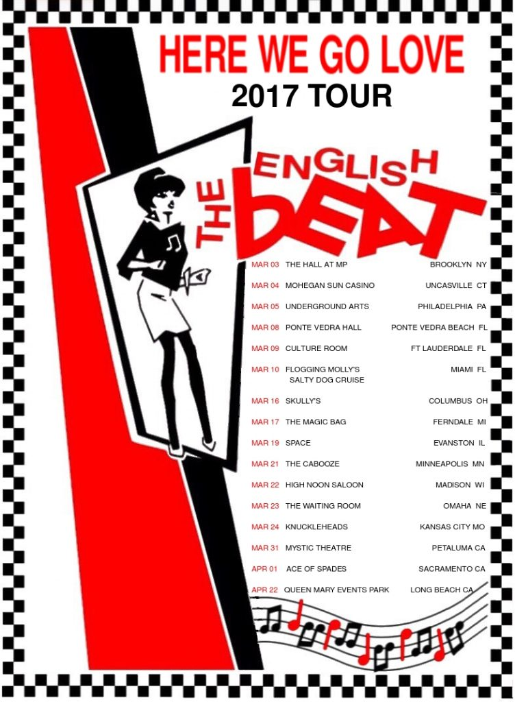 So Dont Delay Book Your Tickets Today And Were Sure Youll All Have A Good Time Skankin To The English Beat