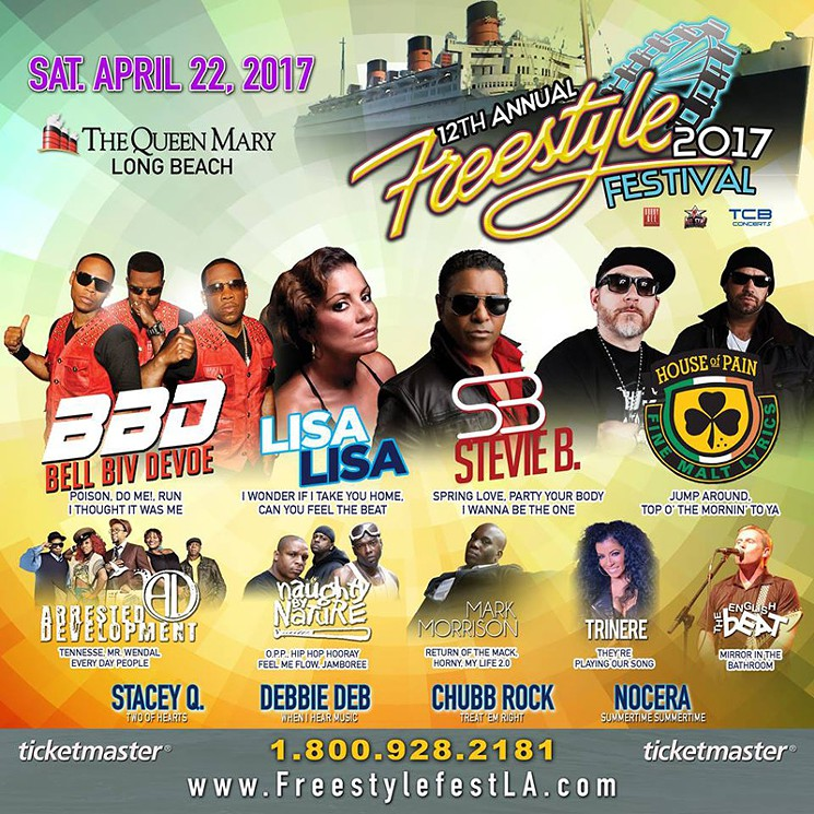 Well Be Sharing The Bill With An Extraordinary Group Of Dance RB Hip Hop Artists Including Bell Biv Devoe House Pain Arrested Development
